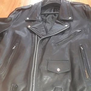 Biker jacket mens size 48
